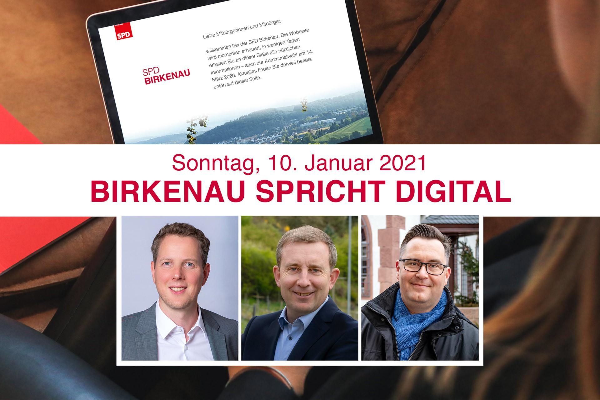 Birkenau spricht digital